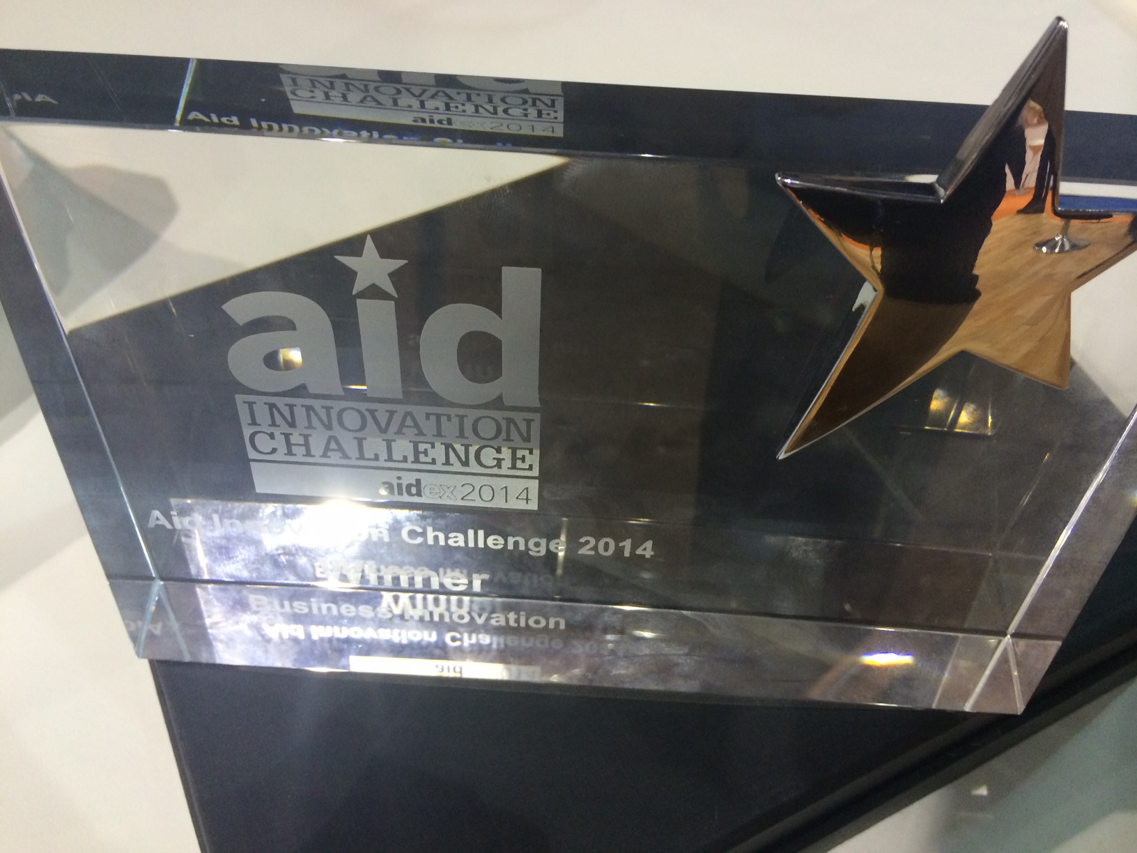 NRS Relief chosen as finalist for AidEx Aid Innovation Challenge