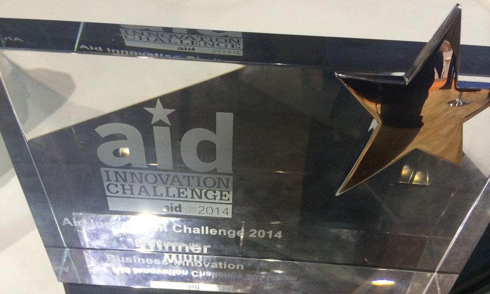 AidEx aid innovation challenge award fire retardancy