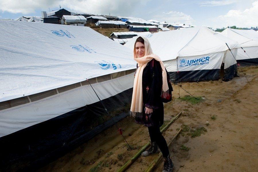 RRS - Martina in rohingya camp