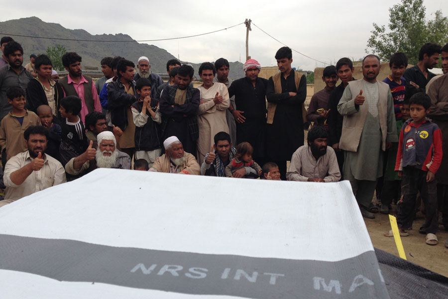 people of Afghanistan appreciated UNHCR efforts