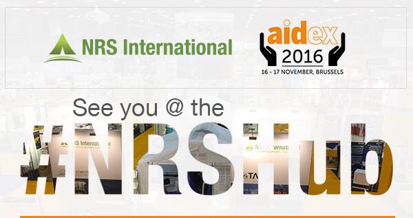AidEx 2016 #NRSHub   NRS International