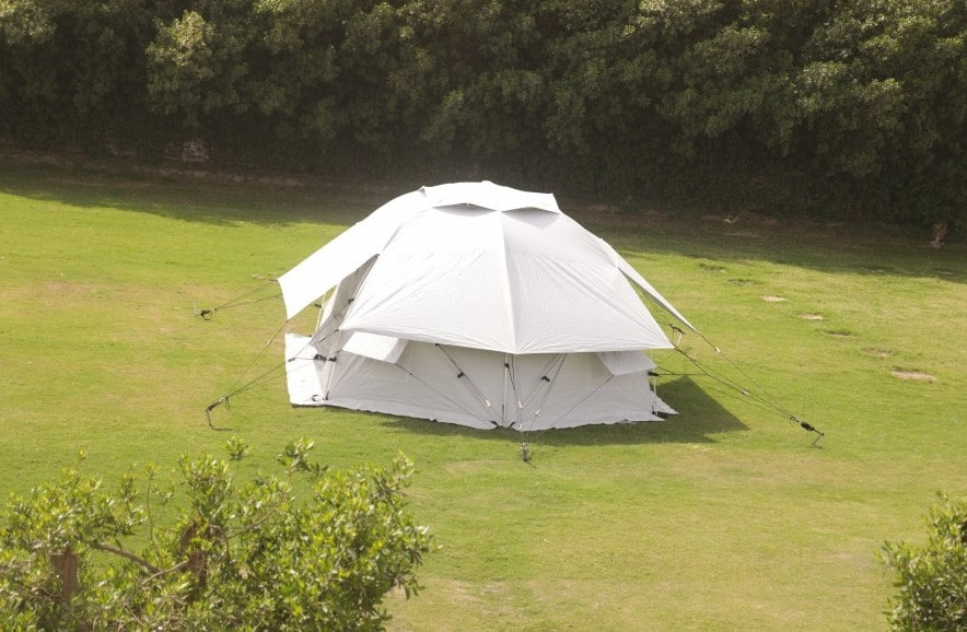 geohome NRS Reliefs next generation of family tent