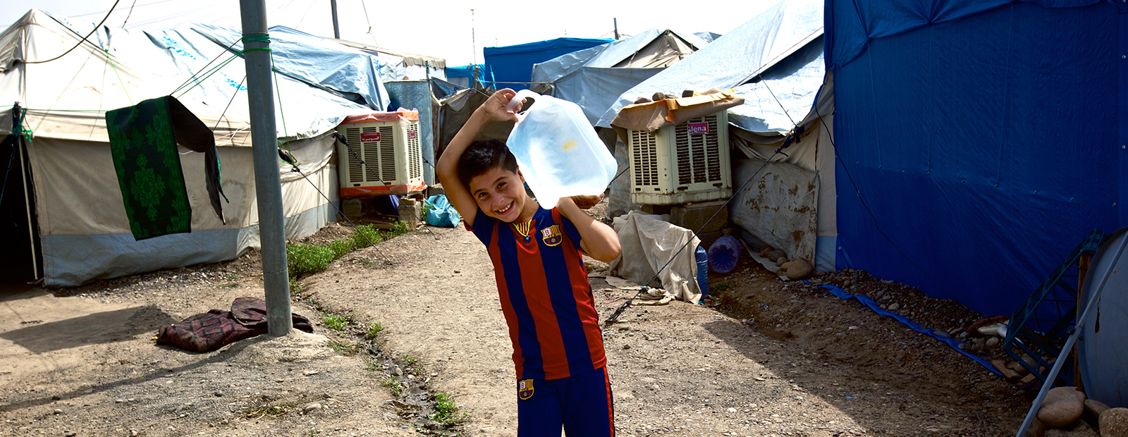 Fighting cholera in Yemen: Safe and hygienic water containers needed to combat the outbreak