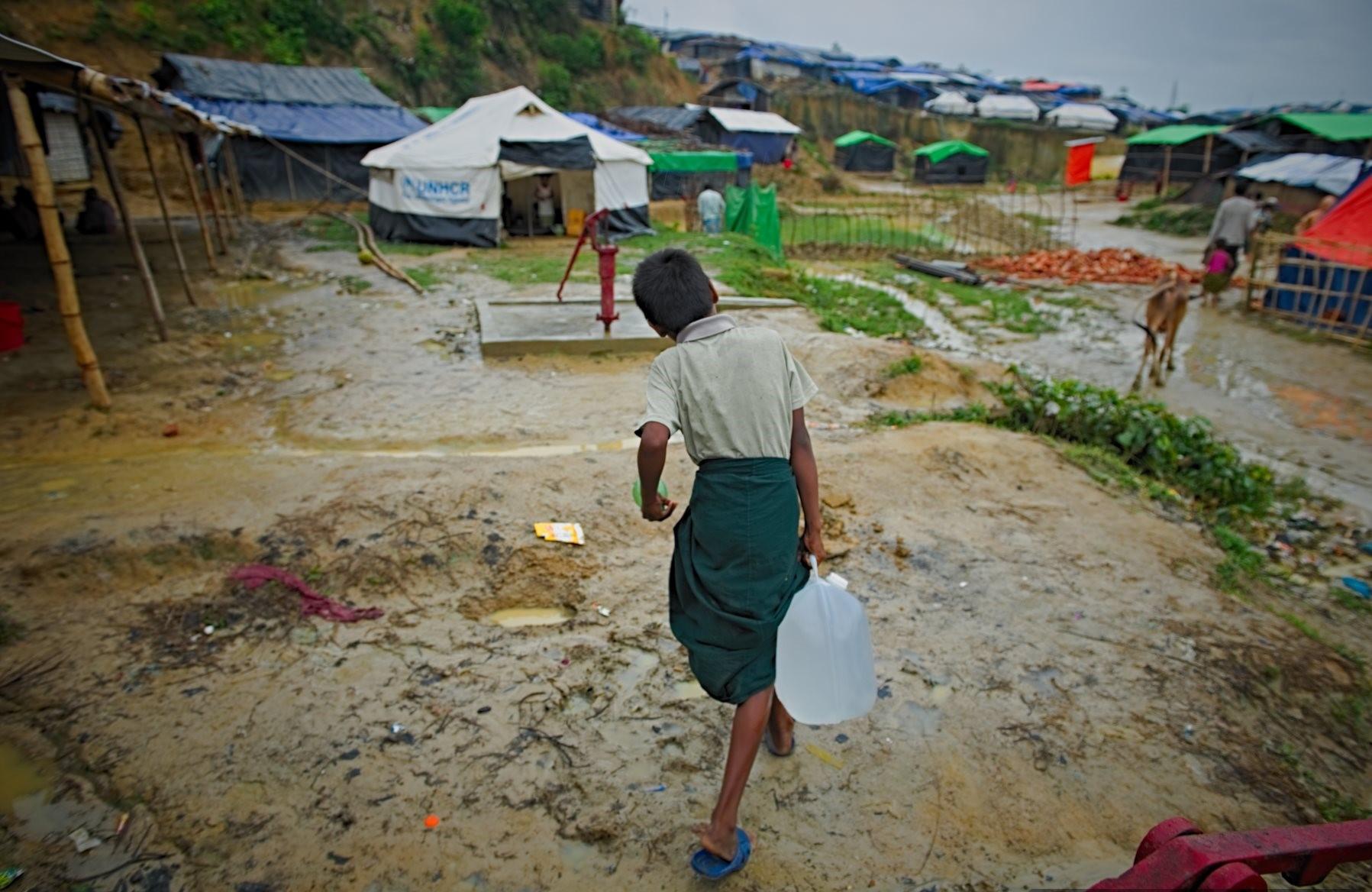 NRS International - Rapid Response Strategy   Rohingya Refugee Crisis, Kutopalong camp, Cox's Bazaar, Bangladesh