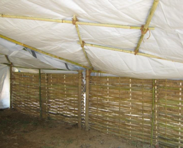 NRS Relief Bamboo Shelter Kit