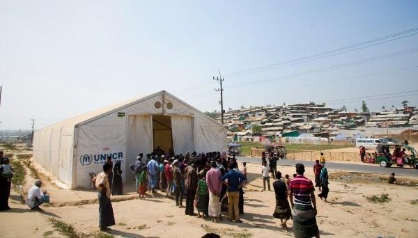 RexHall MSU Bangladesh Rohingya refugee camp
