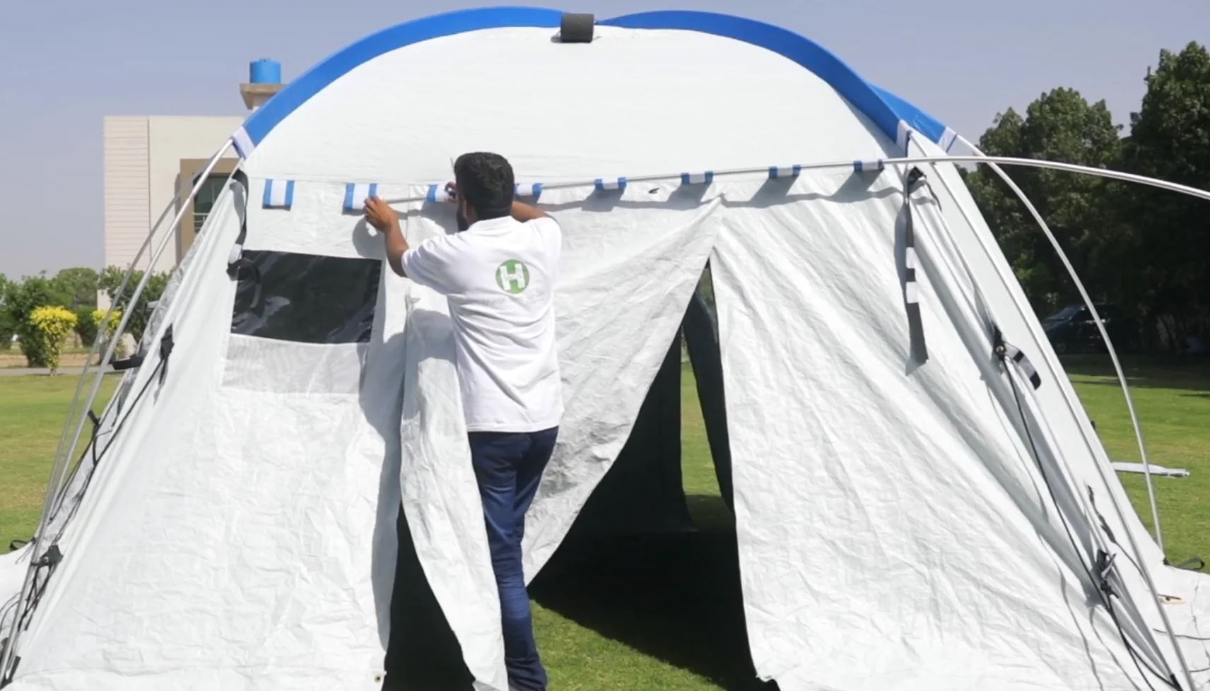 Geohome tent assembly video thumbnail