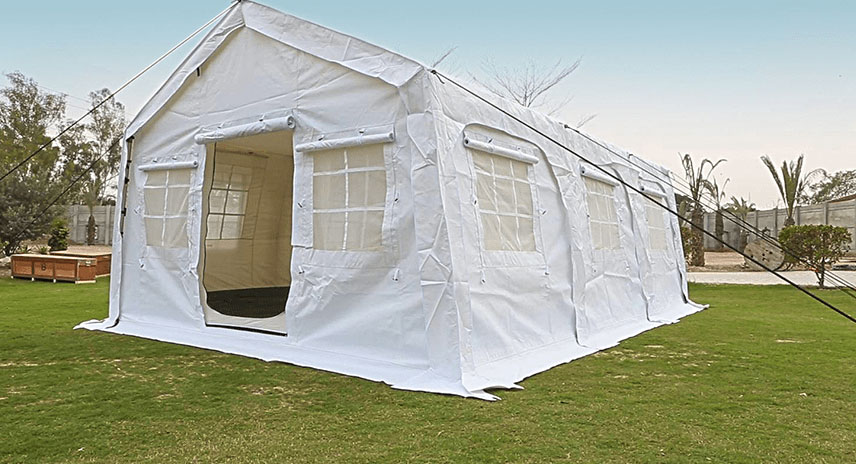 NRS Relief Huggy 24 multipurpose tent
