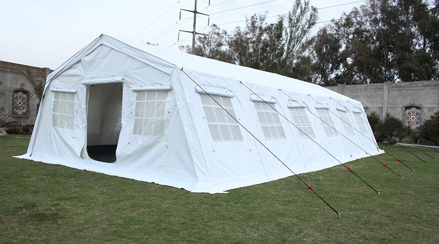 NRS Relief Huggy 72 multipurpose tents full view