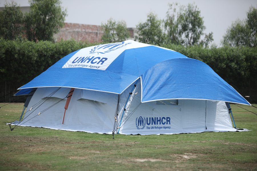 NRS Relief Dome Home self-standing family tent - UNHCR Standard