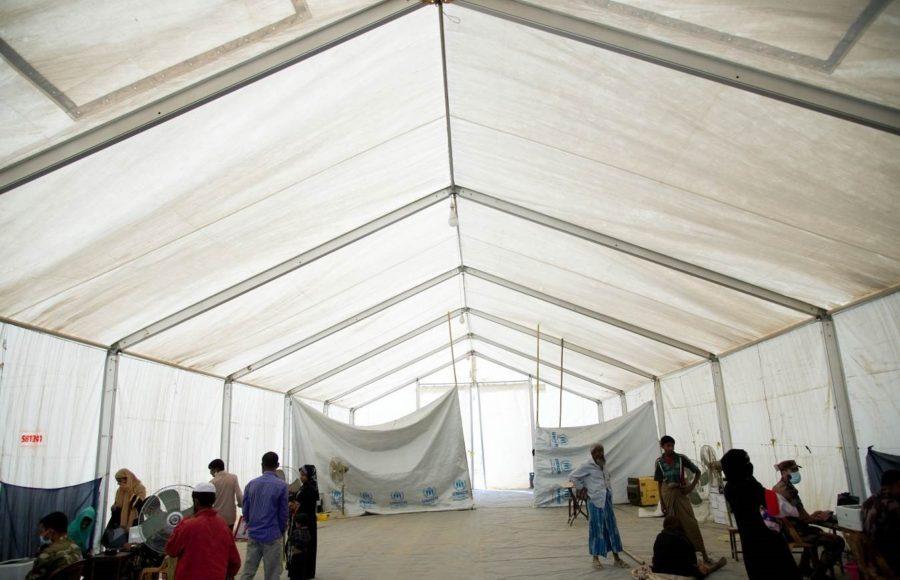 NRS Relief Mobile Storage Unit - Rubb Hall - Rex Hall MSU_Rohingya refugee camp