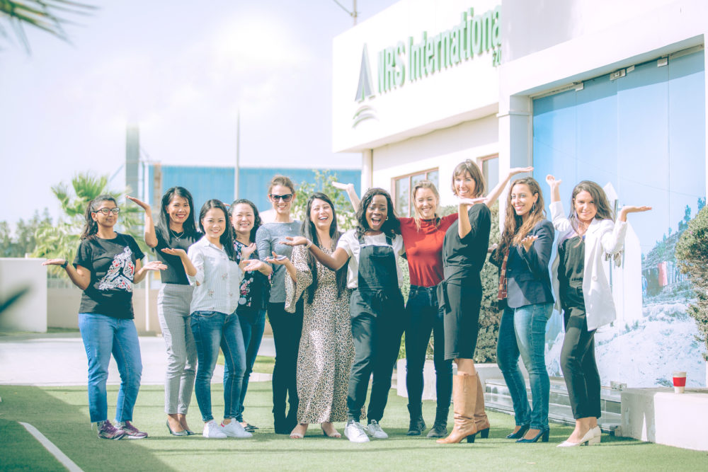NRS Relief shows support for #BalanceForBetter on International Women's Day