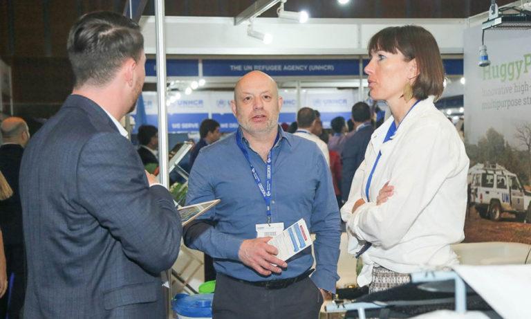 Frank & Wieke explaining about NRS International at DIHAD 2019