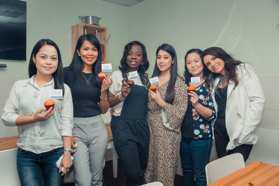 Employees at NRS International on Women's International Day 2019