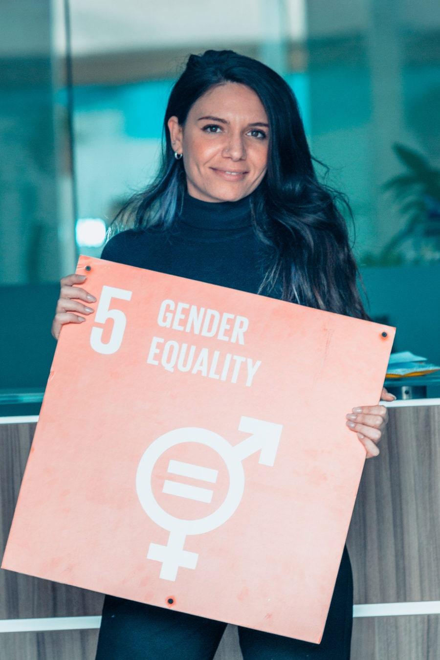 Martina on Women's International day 2019