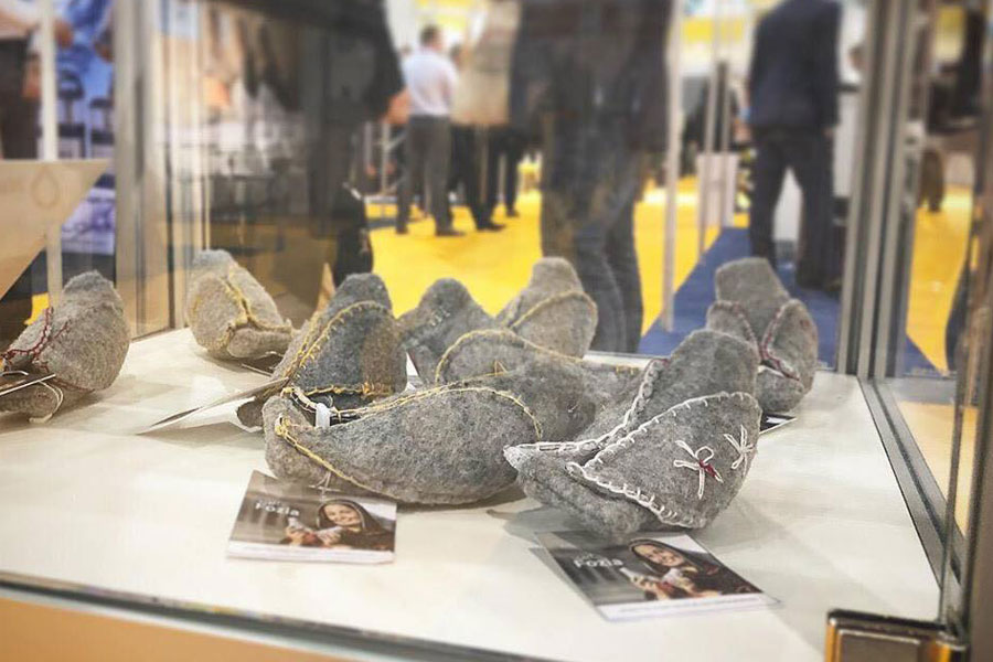 NRS International products Peacedoves at AidEx 2018 Brussels expo