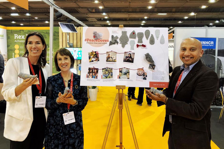NRS International sharing their work at AidEx 2018 Brussels expo