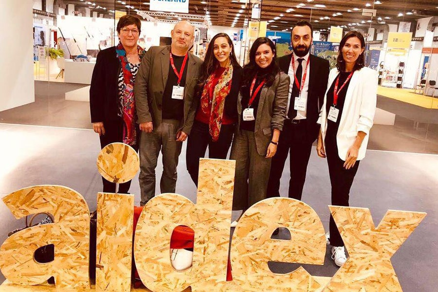 NRS International team at AidEx 2018 Brussels expo