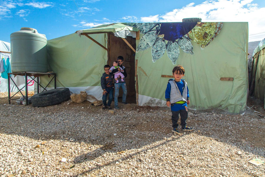 NRS Relief Arsal camp at Lebanon 2018