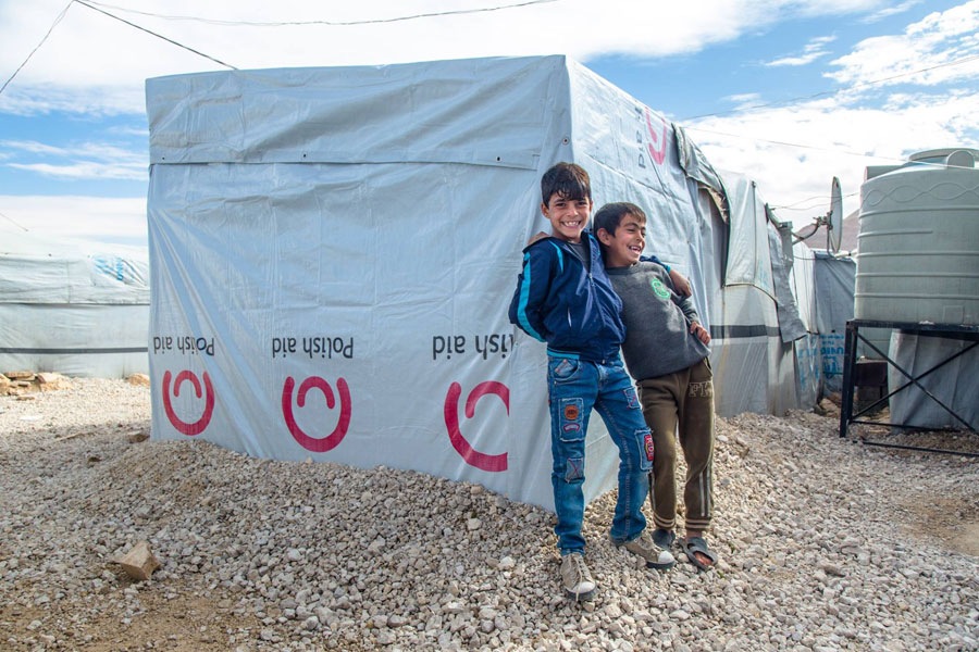 NRS Relief provides core relief items at Arsal camp in Lebanon 2018