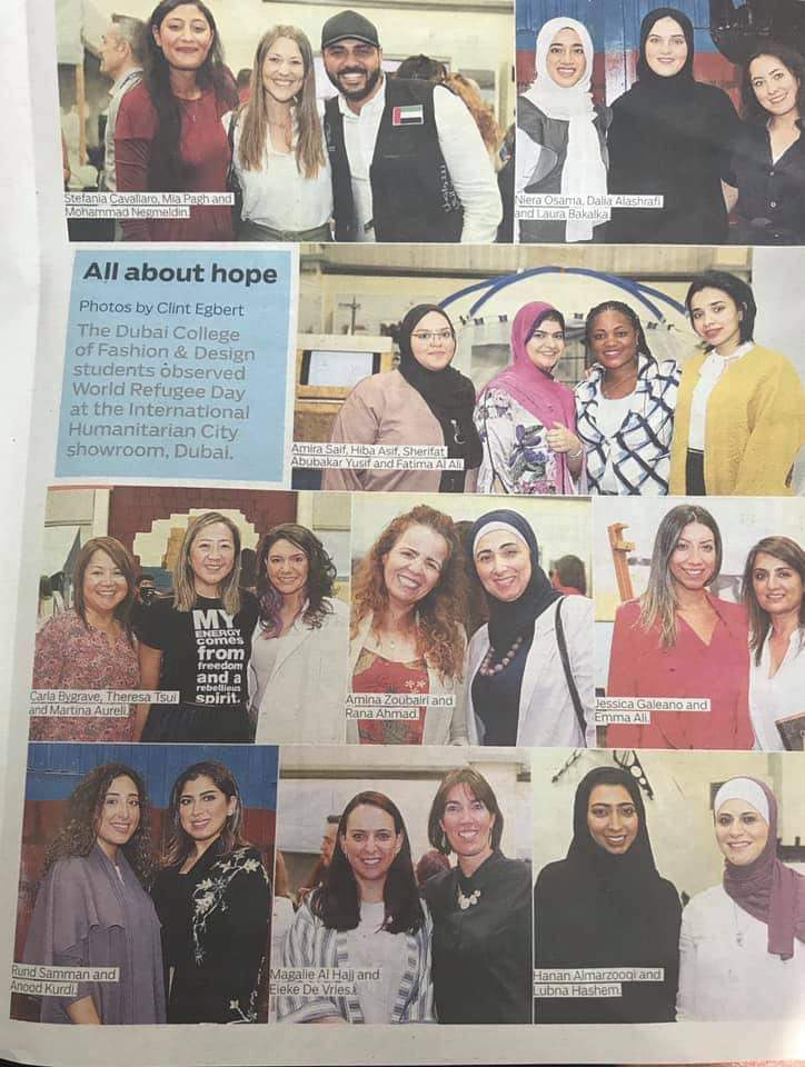 'Bag of Hope' event on World Refugee Day 2019 gets UAE media coverage