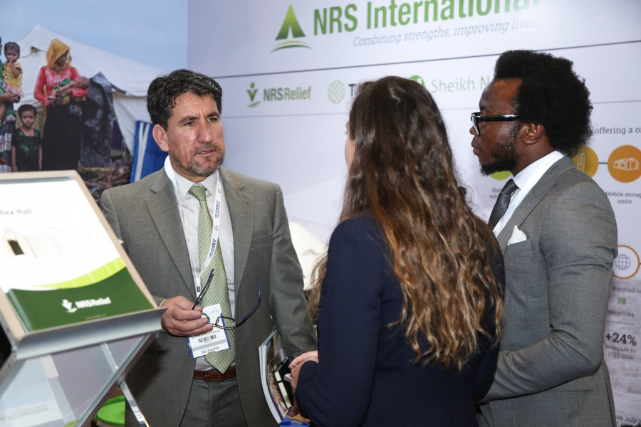 guest of DIHAD 2018 event at NRS Relief booth