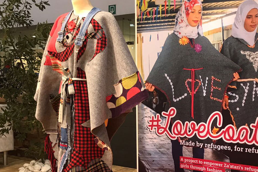 LoveCoat of NRS International at AidEx 2017 Brussels Expo