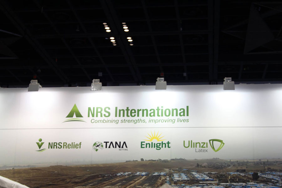main board of NRS International at DIHAD 2017 event