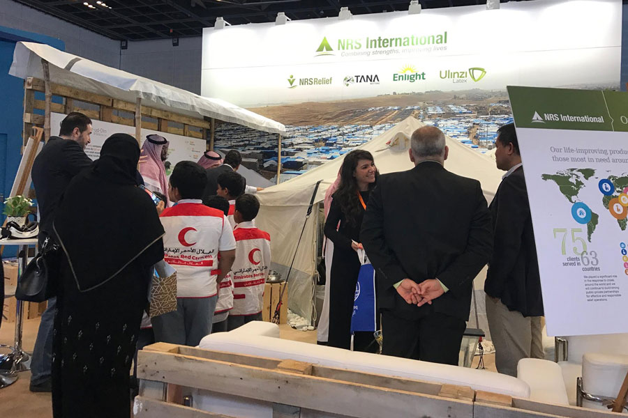 NRS International booth at DIHAD 2017