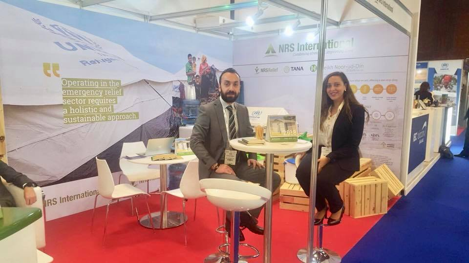 NRS Relief booth place at DIHAD 2018