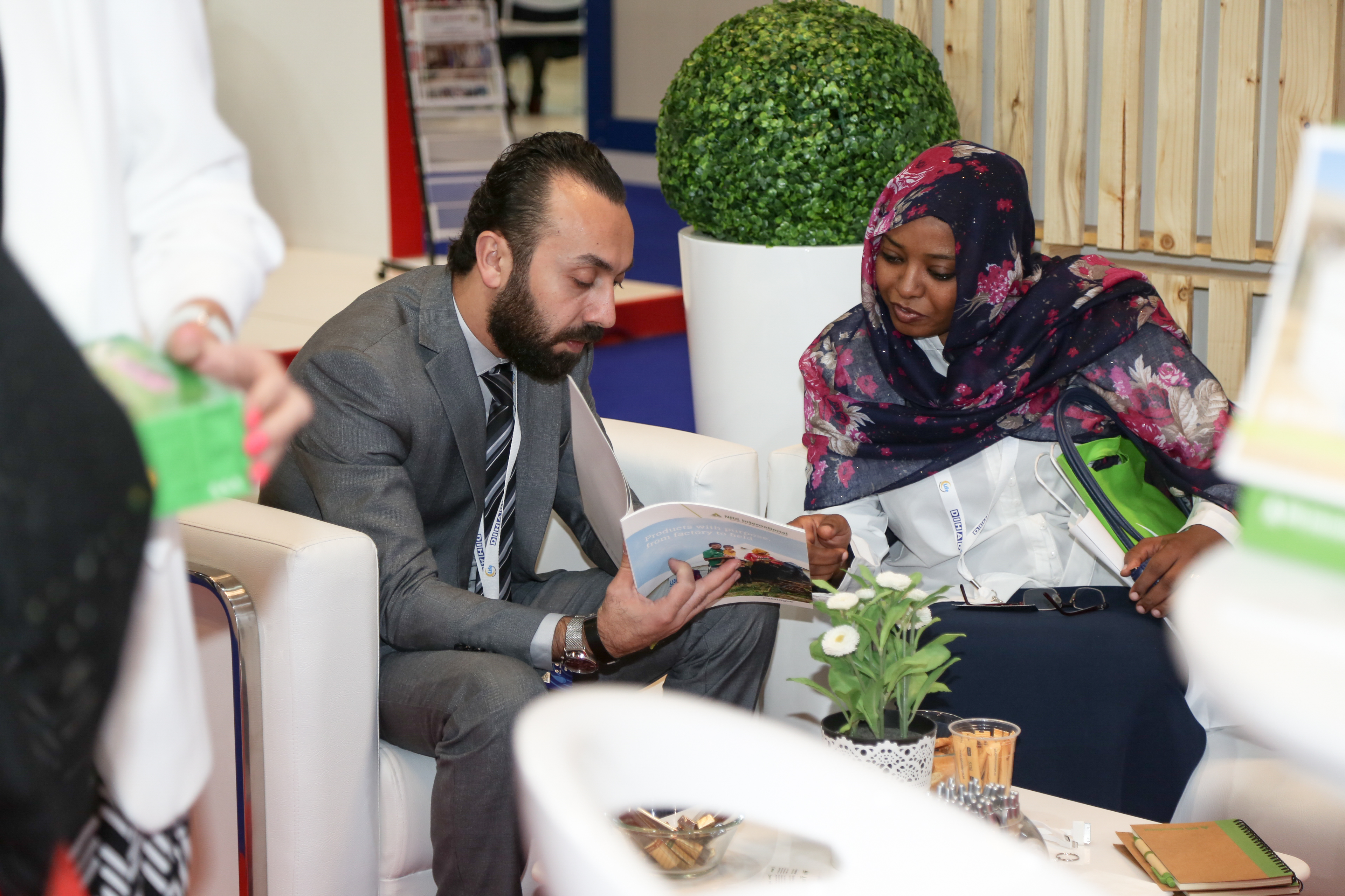 NRS Relief showcase booklets at DIHAD 2018
