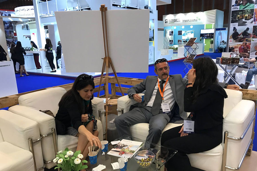NRS Relief team at DIHAD 2017