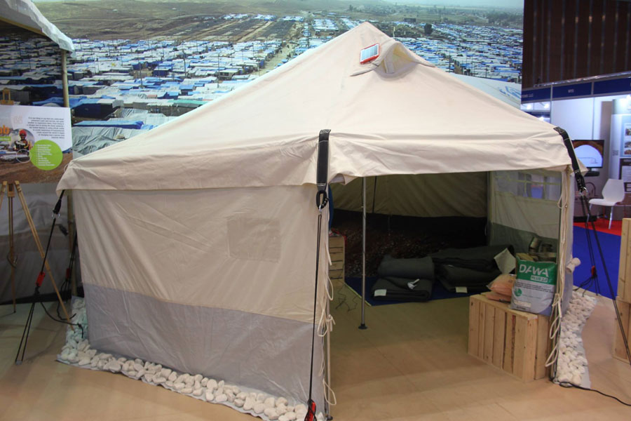 NRS Relief tent at DIHAD 2017 event