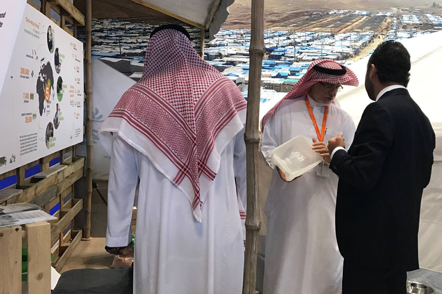UAE Locals at NRS International booth in DIHAD 2017 event
