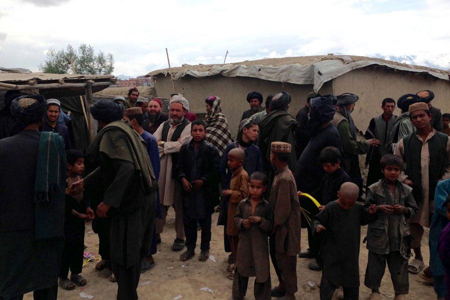 Afghani refugees in Afghanistan 2016