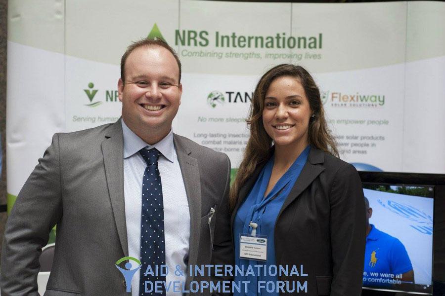 Aid International Development Forum in Washington in 2015