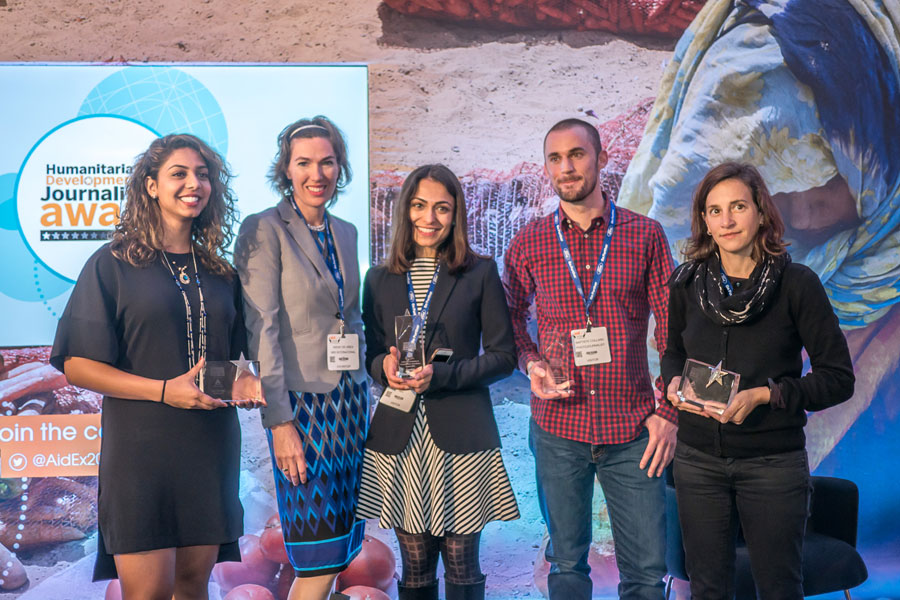 award winners at AidEx 2016 Brussels Expo