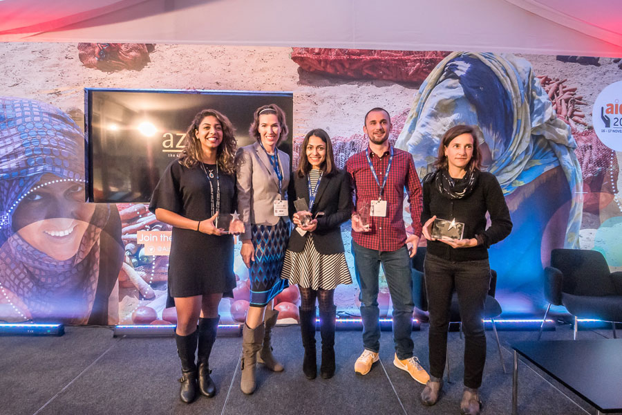 award winners at AidEx event 2016 Brussels Expo