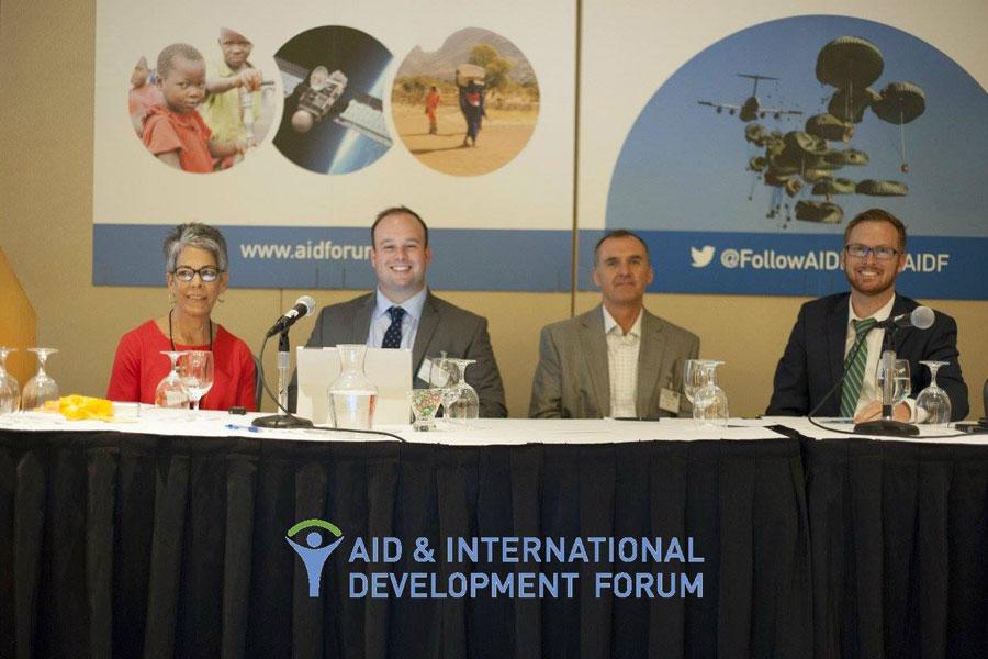 discussion panel of AIDF Washington 2015