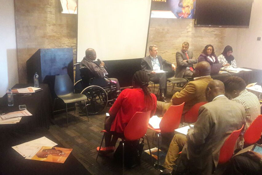 discussion panel of Humanitarian Summit event in Kenya 2016