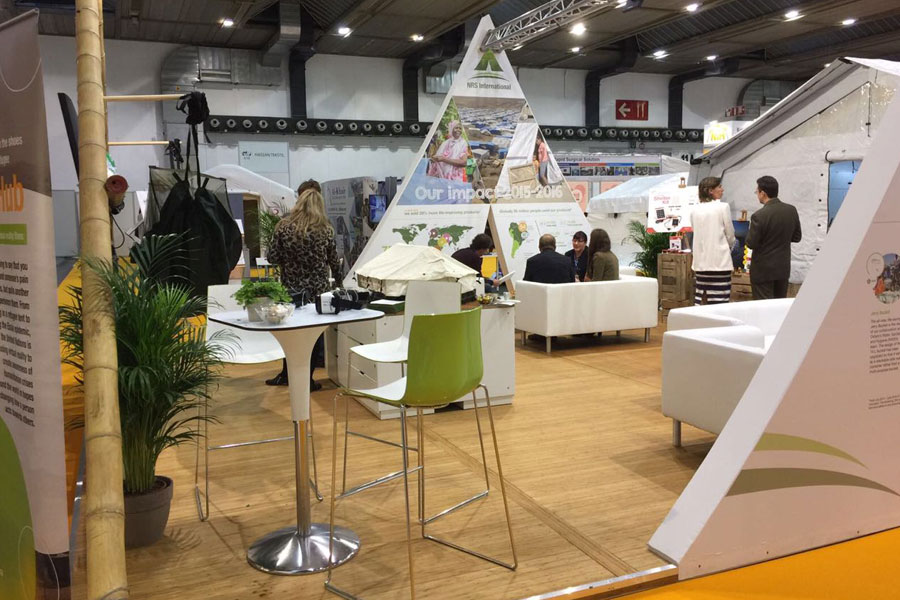 Flex of NRS Relief at AidEx event 2016 Brussels Expo