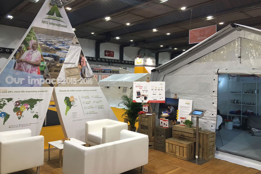 NRS International flex at AidEx event 2016 Brussels Expo