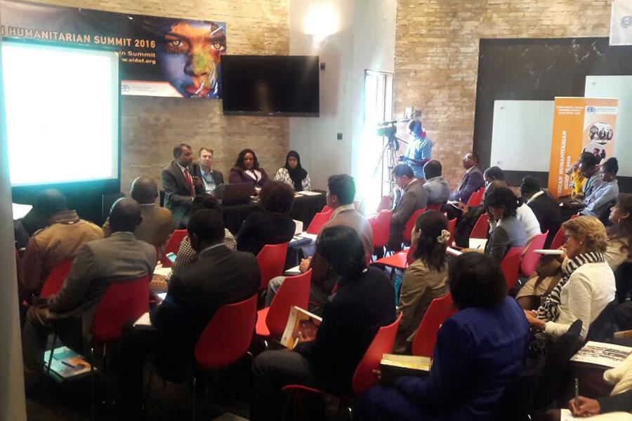 NRS Relief at Humanitarian Summit seminar in Kenya 2016