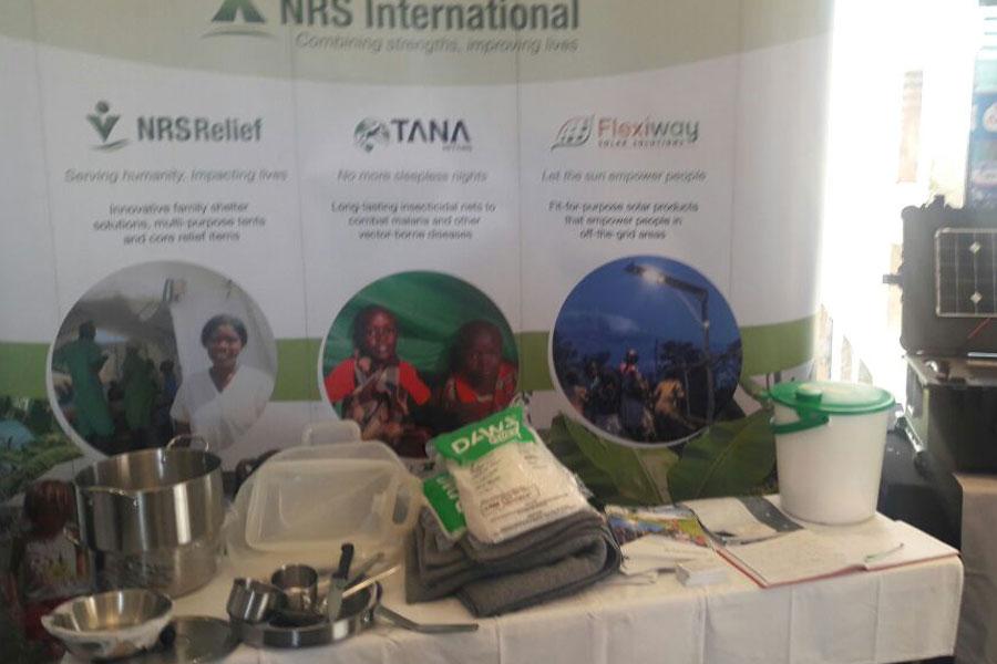 NRS Relief booth at Humanitarian Summit Kenya 2016