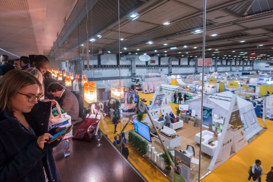 NRS Relief booth view at AidEx event 2016 Brussels Expo