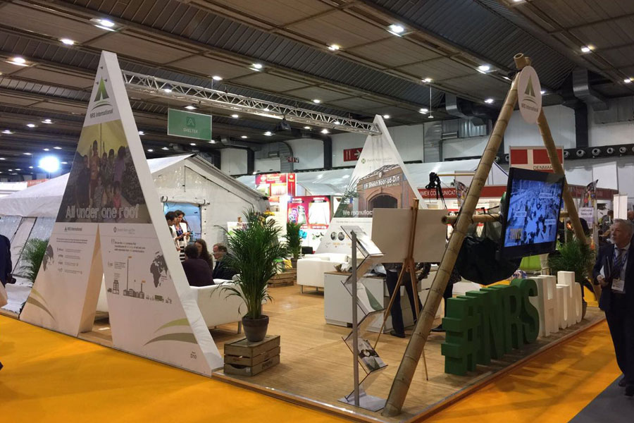 NRS Relief front left corner view at AidEx event 2016 Brussels Expo