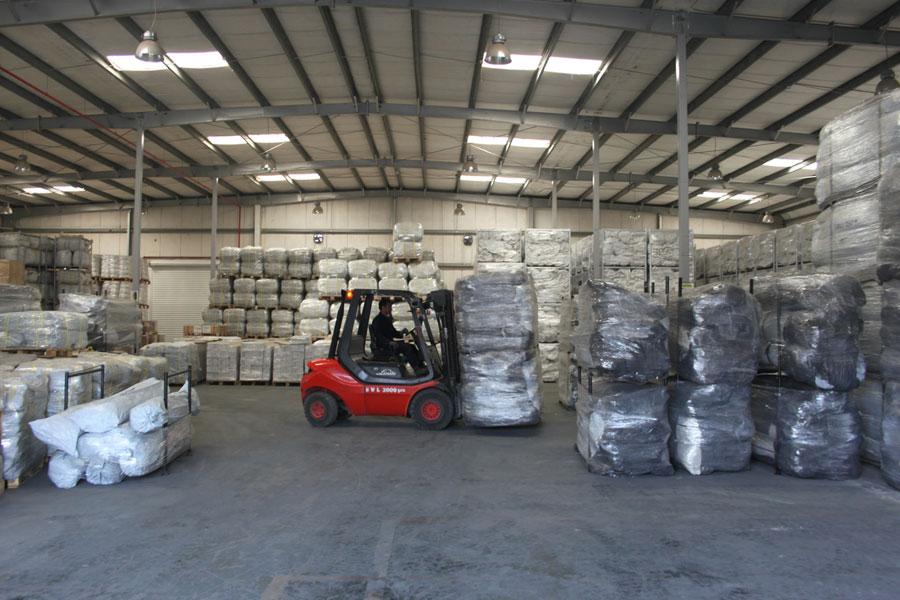 NRS Relief logistics Dubai warehouse in 2016