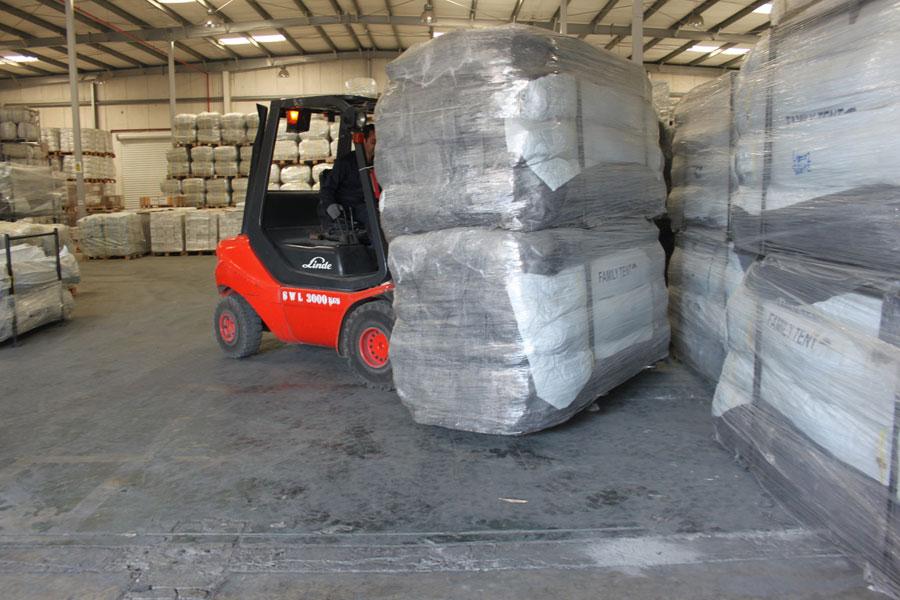 NRS Relief logistics in Dubai warehouse 2016