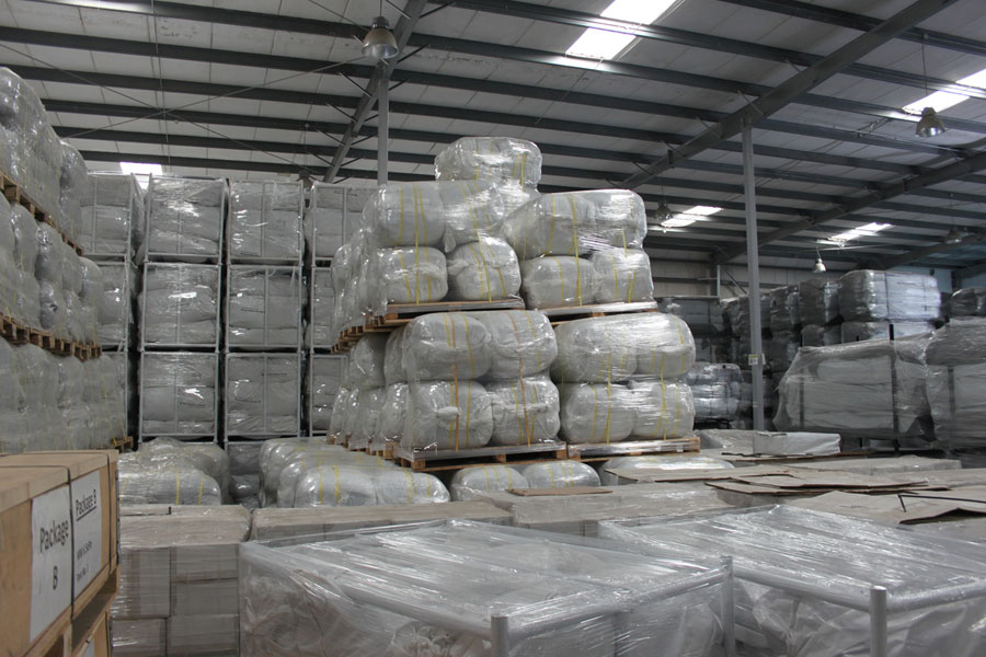 NRS Relief logistics packages in Dubai warehouse 2016