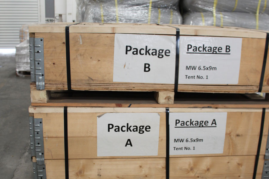 NRS Relief logistics packages of A & B Dubai warehouse 2016